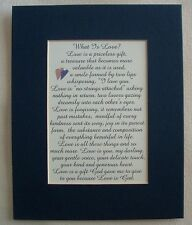 LOVE IS Priceless GIFT My DARLING Husband Wife Sweetheart verses poems plaques