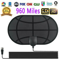 960 Mile Range Antenna TV Digital HD 1080p Skywire 4K Antena Digital Indoor y3