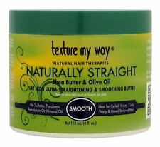 Texture My Way Flat Iron Ultra-Straightening - Smoothing Butter, 4 oz (2 pack)