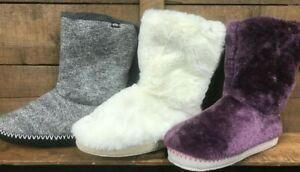 Ladies Animal 'Bollo' slipper boot