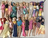 Huge lot of 23 Mattel Barbie/Disney Doll Mix
