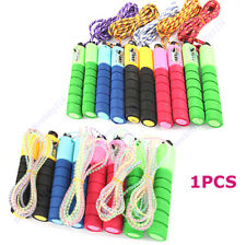 Adjustable Skipping Jump Rope with Counter Number Fitness Exercise Workout Gym