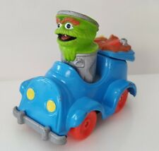 Sesame Street Oscar the Grouch Vtg 1987 Diecast Car Playskool Muppet Trash Truck