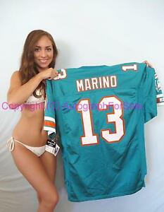 Dan Marino 1994 Miami Dolphins original authentic Starter Pro Line aqua jersey