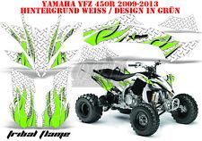 Amr racing décor Graphic Kit ATV yamaha yfz 450 04-14, yfz 450r tribal Flames B