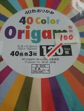 "New ListingDaiso Origami Paper 5.9"" x 5.9"" 40 Color/100 Sheets"