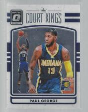 2016-17 DONRUSS OPTIC COURT KINGS #10  PAUL GEORGE  PACERS  50 CENT SHIP