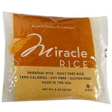 MIRACLE Noodle Rice 150g selez (Pacco da 3)