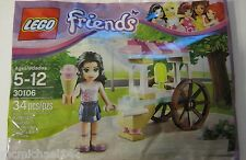 Lego Friends Emma's Ice Cream Stand with 1 mini figure New In Package Lego 30106