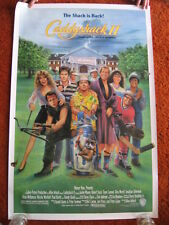 CADDYSHACK 2 original MOVIE POSTER > ROLLED 1988  >1980's golf Chevy Chase