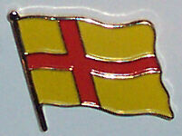Orkney Islands (old) Country Flag Enamel Pin Badge
