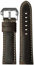 24x22 XL RIOS1931 for Panatime Stone Vintage Leather Watch Strap for Panerai