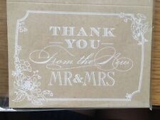 Wedding -  THANK YOU CARDS (Lace / Country/ Cherry Blossom )