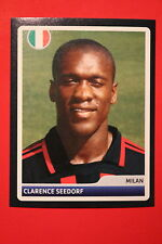PANINI CHAMPIONS LEAGUE 2006/07 # 118 AC MILAN SEEDORF  BLACK BACK MINT!