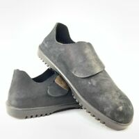 Birkenstock Betula Mens Monk Strap Buckle Clog Shoes Black Slip Ons 11 EUR 44