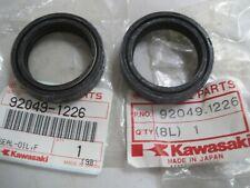 KAWASAKI NOS FORK SEAL SET  92049-1226 GPX250R EX250 GPZ500 EN454LTD EN500