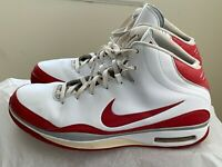 Nike Mens Size 18 Blue Chip White Varsity Red 324829-102 2008 Basketball Shoes