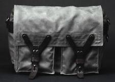 WOTANCRAFT SCOUT VINTAGE GREY CANVASS BAG