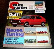 Gute Fahrt 10/83 Abt Quattro,Oettinger Scirocco,Sorgler,VW-Nutzfahrzeuge,Enzmann