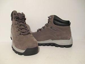 Lugz Mens Lumber HI SR Durabrush Casual Ankle Work Boots Charcoal / Grey Size 9