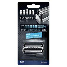 Testina di Ricambio Braun 32S Compatibile con i Rasoi della Serie 3 Argento
