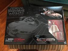 Star Wars Black Series Luke Skywalker X-34 Landspeeder (Brand New in Box)