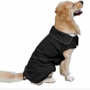Hundemantel Winter Wasserdicht Allwetter Regen Jacke Hunde Weste Mantel XS-XXXL