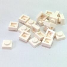 30 NEW LEGO White Plate 1 x 1