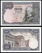 Facsimil Billete 5000 pesetas 1976 - Reproduction