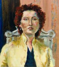 Porträts & Personen auf Leinwand im Realismus-künstlerische Malerei -