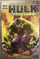 IMMORTAL HULK #19 - Mike Deodato Variant Cover - Marvel 2019