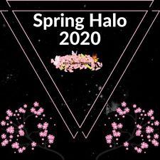 Spring Halo 2020 + 100k - Royale High - Virtual Item (READ DESCRIPTION)