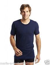 ARMOR LUX TEE-SHIRT homme manches courtes 100% coton épais T2 S bleu marine