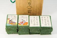 Japan OGURA HYAKUNIN ISSHU Card Game 100 Poets w/box Free Shipping 606k02