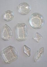 Pack of 14 Edible Clear Sugar Isomalt Cake Cupcake Jewels Diamond Decoration