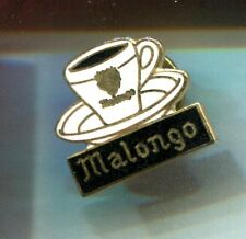 RARE PINS PIN'S .. ALIMENT FOOD CAFE COFFEE TASSE BLASON MALONGO EMAIL ~CT