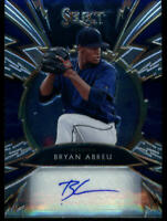 2020 SELECT SPARKS SIGNATURES #SS-BA BRYAN ABREU AUTO 169/199 HOUSTON ASTROS
