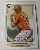 Carlos Correa RC 2014 Bowman Draft Top Prospects Rookie Card # TP-3 Astros MLB
