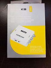 Speaka professionale HDMI/RCA ADATTATORE DA HDMI A PRESA JACK RCA 3x Bianco