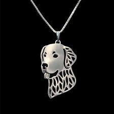 ❤️Halskette mit Anhänger Golden Retriever, Hunde Kopf, pendant, necklace