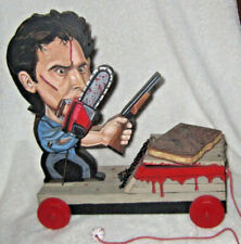 Ash Vs.Evil Dead Pull Toy By Cleveland Ohio Artist Steve Casino From La Gallery