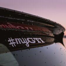 Volkswagen VW #myGTI sticker - Golf POLO JETTA UP  - White Vinyl Transfer Decal