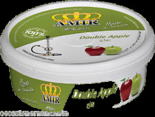 AMIR Melassa per Narghilè 50g, gusto DOPPIA MELA Narghile, shisha tabacco free *