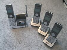 At&T Cl82401 1.9 Ghz Four Handsets Single Line Cordless Phone