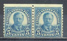 US Stamp (L1954) Scott# 602, Mint NH OG, Nice Vintage Coil Pair