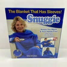Snuggie Blue Adult With Pockets