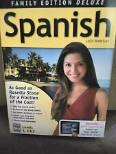 Instant Immersion DELUXE Latin American Spanish Levelsof 1,2,3