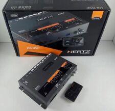 Hertz H8 DSP DRC Digital Interface Sound Processor 8 Pre-out 31 Band Equalizer