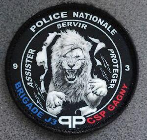 Écusson Police Nationale