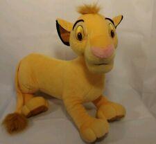 "Disney Lion King Simba 21"" Plush Toy Stuffed animal Hasbro 2002 China"